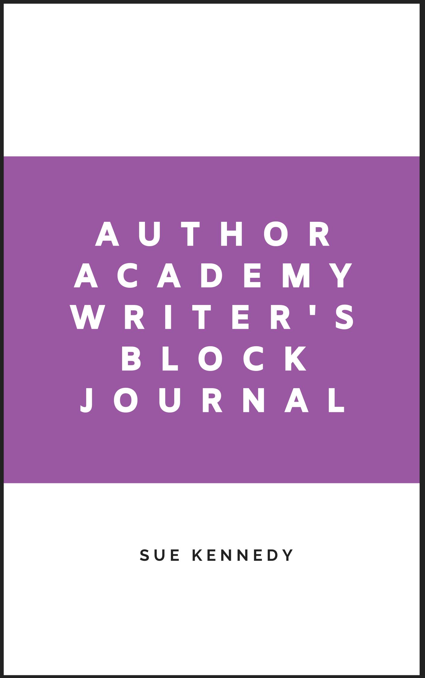 AA Writer's Block Journal
